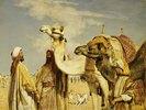 Begrüßung in der Wüste