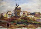 Eine Windmühle