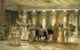 Die Prozession des heiligen Stieres