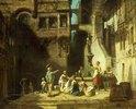 Wäscherinnen am Brunnen