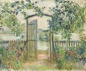 Das Gartentor in Vetheuil (La Porte du jardin à Vetheuil)