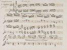 Abwesenheit und Das Wiedersehen (Klaviersonate in E, Opus 81a). Manuskripst eines Kopisten
