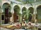 Der Hof des Dar Khdaoudj el Amia Palastes in Algier