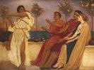 Tanzendes griechisches Mädchen