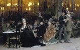 In einem Pariser Café