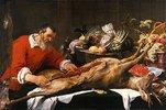 Stillleben beim Wildhändler. 1. Häfte 1630er Jahre