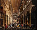 Innenansicht der Jesuitenkirche zu Antwerpen