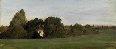 Landschaft mit Kapelle