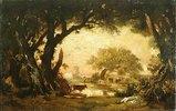Lichtung im Wald von Fontainebleau