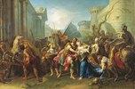 Hector nimmt Abschied von Andromache