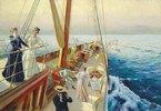 Yachtausflug im Mittelmeer