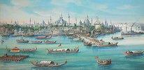 Ansicht von Konstantinopel vom Wasser aus