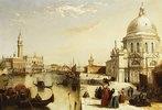 Der Canal Grande mit Santa Maria Della Salute, Venedig