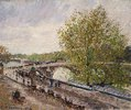 Pont Royal an einem Frühlingsnachmittag