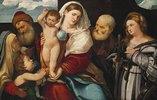 Die heilige Familie mit St. Katharina
