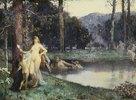 Diana im Bade