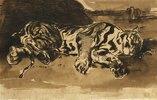 Liegender Tiger (Tigre Couché)