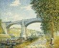Die Zugbrücke bei Moret (Le Pont du Chemin de Fer à Moret)