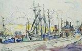 Der Hafen von Fecamp