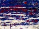 Ostseestrand bei Ahlbeck (Blau-rote Dämmerung)