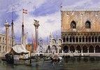 Die Piazetta vor San Marco, Venedig