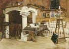 Das Sommeratelier von Jean Louis Ernst Meissonier (1815-1891) in Poissey