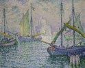 Venedig mit Segelbooten (Le Redempteur)