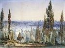 Konstantinopel von Eyüp aus