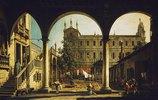 Venezianisches Capriccio: die Scuola di San Marco vom Palazzo Grifalconi Loredan aus