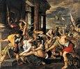 Delilas Verrat und Samsons Gefangennahme durch die Philister