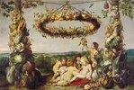 Der Jesusknabe mit Johannes und Engeln