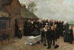 Nordfriesisches Begräbnis
