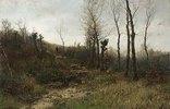 Waldlandschaft mit Schäfer