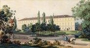 Nordansicht der Residenz des Großherzogs von Weimar