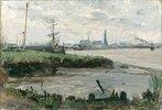 Antwerpener Hafenlandschaft
