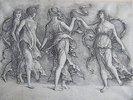 Vier tanzende Musen