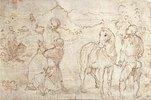 Kaiser Augustus und die Sibylle