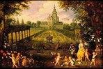 Flora im Garten. Blumen und Bäume von Jan Brueghel d.J