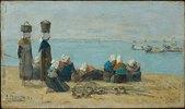 Brest - Fischerinnen am Ufer (pecheuses sur le rivage)