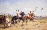 Die Falkenjagd (La Chasse au Falcon)
