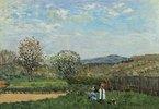 Spielende Kinder auf einer Wiese (Enfants Jouant dans la Prairie)