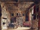 Raum in einem alten Herrenhaus