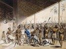 Ein Stammeshäuptling verurteilt Europäer zu Tode