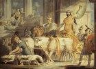 Lykurg kommt nach Athen und Theseus Ankunft in Athen
