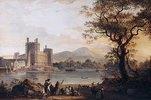 Caernarvon Castle. Wohl 1790er Jahre