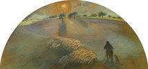 Schäfer mit seiner Herde (Berger et Moutons)
