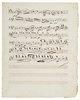 15. Streichquartett in a-moll op. 132. Manuskript eines Kopisten. Wien
