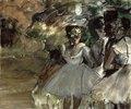 Drei Tänzerinnen in den Kulissen (Trois Danseuses dans les Coulisses). Cir