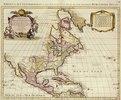 Atlas Major. Karte von Nordamerika. Publiziert