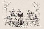 Telegraph - Oper von Bellini (Zeitungsillustration)